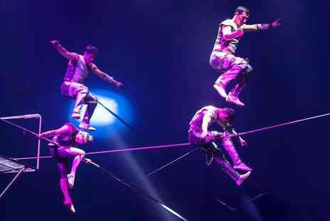 The European Events Corporation - Grandstand ticket to Circus Vegas choose from six locations - Save 51%