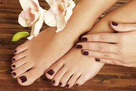 Fifty Eight Hair Design - Gel Manicure, Pedicure or Both - Save 58%