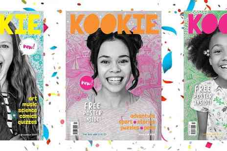Kookie Magazine - An Inspiring New Magazine for Girls Aged 8 to 12 Plus Free Delivery - Save 29%