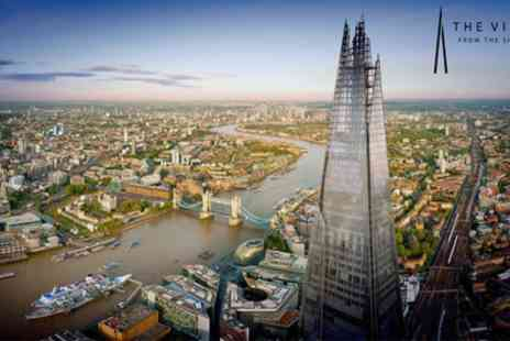 The View from the Shard - The View from The Shard with Optional Guidebook, or Champagne or Cocktail for Up to Four - Save 0%