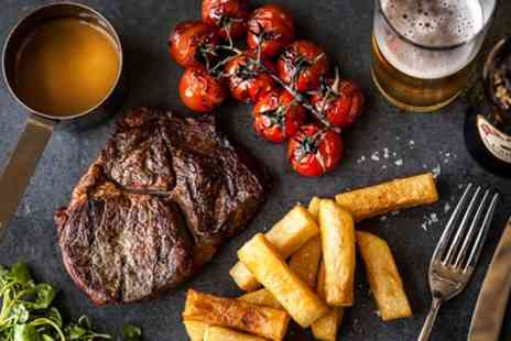 The Saddlers Faversham - Two Course Steakhouse Meal for Two or Four - Save 44%