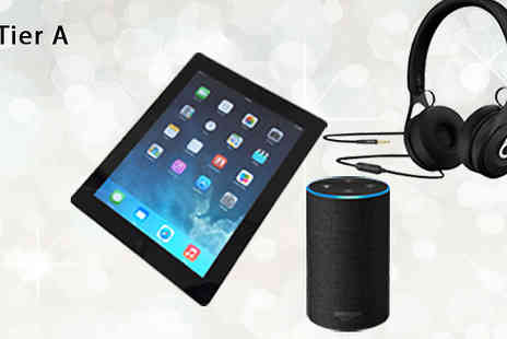 Brand Logic Europe - Mystery Electronics Extravaganza Samsung TV, PS4, Apple iPad 2, Amazon Echo, Beats and More - Save 0%