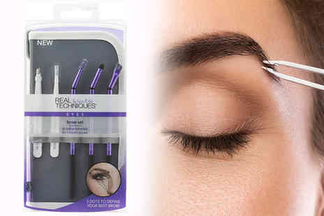 Shopaholic - Real Techniques brow set - Save 60%