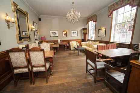 The Lion Hotel Shrewsbury - Three course dining and a glass of Prosecco each for two - Save 59%