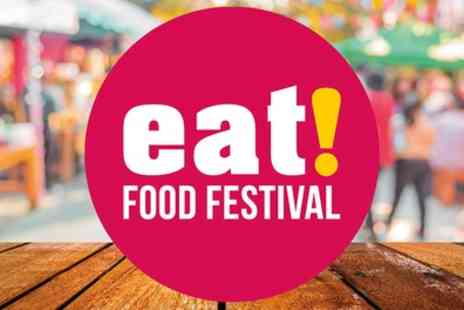 Eat Food Festival - One general admission day ticket to Eat Food Festival on 28 To 29 July - Save 25%