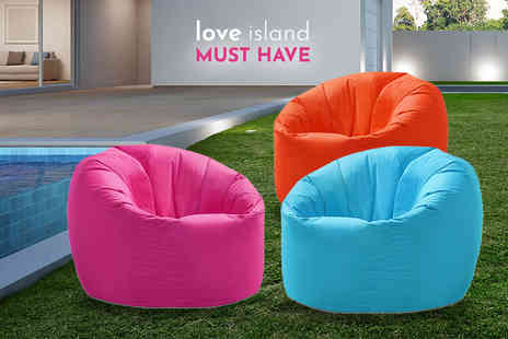 UK Beanbags - Kids highback beanbag or adult beanbag choose from 3 colours - Save 48%