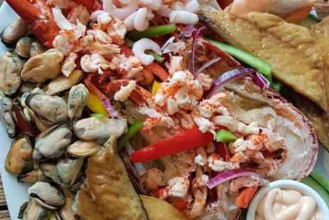 Finest of Fish Borrowash - Lobster or Crab Seafood Platter with Salad - Save 31%
