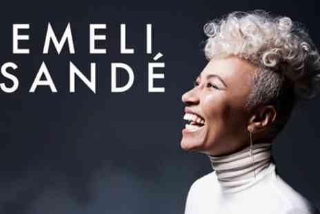 Live Nation HQ - Ticket to Emeli Sande, Greenwich Music Time on 3 July - Save 50%