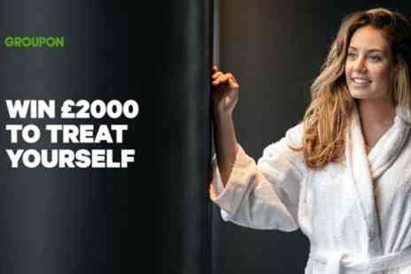 Groupon - Win £2000 to Treat Yourself - Save 0%
