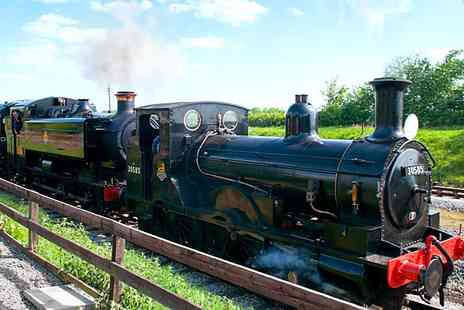 Buckinghamshire Railway Centre - Entry to railway centre with unlimited steam train rides - Save 29%