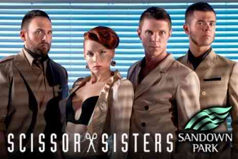 Sandown Park Racecourse - Two Grandstand Tickets to Scissor Sisters With Food and Drinks - Save 63%