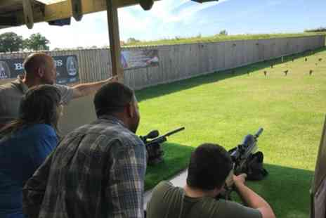 Rifleman Firearms - One Hour Have a go Air Rifle Session for Two - Save 35%