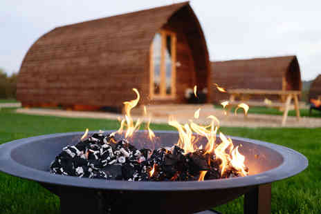 Millside Wigwams - Two or three night glamping stay for up to four people and two dogs - Save 59%