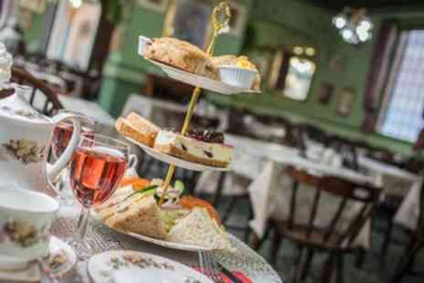 The Victorian Restaurant - Afternoon Tea with Prosecco For Two or Four - Save 51%