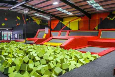 Infinity Trampoline Park Inverness - One Hour Bouncing Session for Up to Four - Save 35%