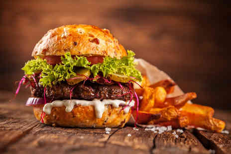 Cosy Dove - Gourmet burger and chips for two or include a glass of wine or beer - Save 50%