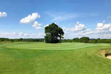 Cuckfield Golf Centre - 18 Holes of Golf for Two or Four with 25 Balls Each - Save 55%
