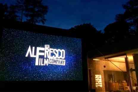 The Alfresco Film Company - Bring Your Own Seat Open Air Cinema with The Alfresco Film Company on 7 July to 7 September - Save 37%