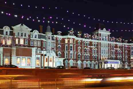 The Imperial Hotel - Four Star one or two night Blackpool stay for two people with breakfast, leisure access and late check out or with dining - Save 49%