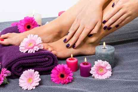 Aesthetics of Liverpool - Choice of Shellac Manicure or Pedicure - Save 66%