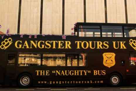 Gangster Tours - London Gangster Bus Tour with Entry to The Clink Prison Museum for Up to Four - Save 60%