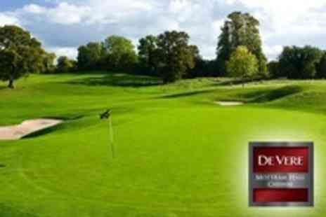 De Vere Mottram Hall - 18 Holes of Golf For Two - Save 0%