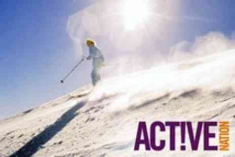 Active Nation - One Day Beginner Course of Skiing For Two - Save 79%