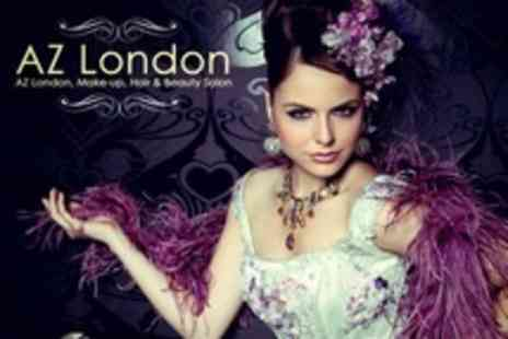 AZ London - Choice of Make-Up Courses Three-Day Catwalk, Fashion and Photographic or Four-Day Bridal - Save 68%