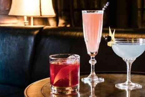 Georges Bar - Fancy Marcus Wareing bar, cocktails & snack for 2 - Save 49%
