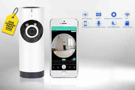 Maxwe - Home security camera, home security camera with 16GB SD card - Save 68%
