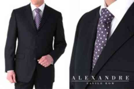 Alexandre Savile Row - Made to Measure Suit Two Piece - Save 53%