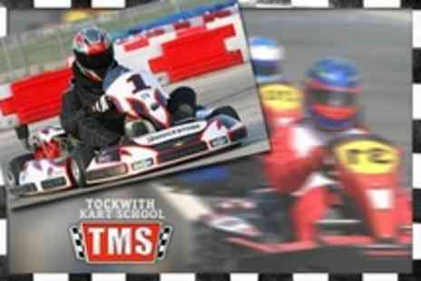 Tockwith Kart School - 30 Laps of Karting For Two - Save 24%