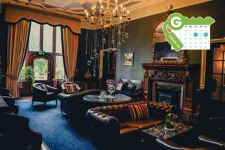 Ruthin Castle Hotel & Spa - Standard Room for 2 with Breakfast, Dinner, Prosecco, Spa Access, and Spa Credit - Save 39%