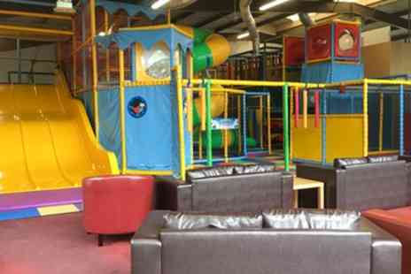 Joes Jungle Soft Play - Soft Play Entry and Meal for Up to Four Kids with a Hot Drink for Up to Four Adults - Save 46%