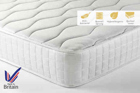 Trusleep - Small single spring and memory mattress - Save 83%
