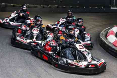 Hull Karting - 30 Minute Go Karting Session for Up to Four - Save 41%