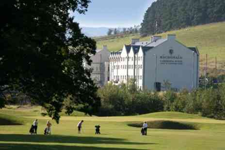 Macdonald Cardrona Hotel - 18 Holes of Golf for One, Two or Four with Optional Basket of Range Balls - Save 77%