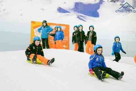 Chill Factore - One hour 30 minute Altitude Pass with Clothing Hire for One or Two - Save 51%