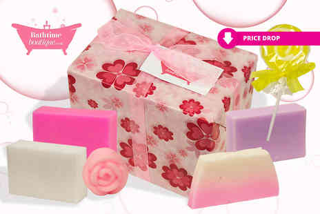 Bathtime Boutique - Luxury assorted soap gift set - Save 71%