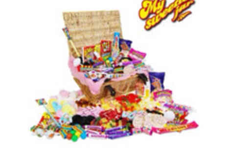 Retro Sweets - Deluxe Retro Sweet Hamper all your childhood favourites - Save 50%