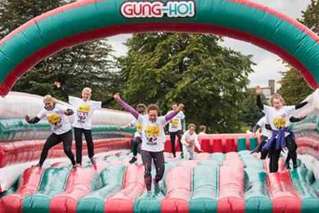 Be Gung Ho - 5K Inflatable Obstacle Course Entry with Racepack - Save 31%