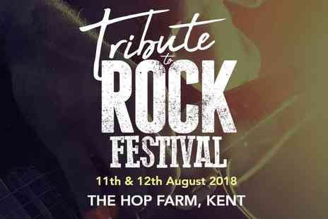 Vexx Group - One or two, one day ticket to Tribute to Rock Festival on 11th or 12th August 2018 - Save 57%