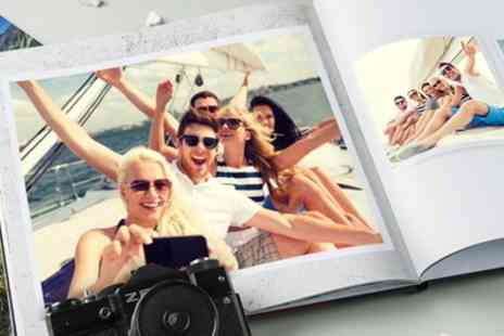 Colorland - Up to Five Personalised Hardcover A4 Photobooks with Up to 60 Pages - Save 88%