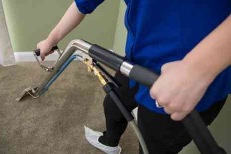Clear Carpets - Carpet Cleaning Service for Up to Four Rooms and Hallway or Stairs - Save 37%