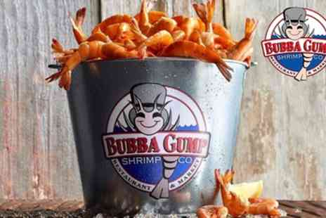 Bubba Gump Shrimp Leicester Sq - Two Course American Meal with Alcoholic or Soft Drink - Save 54%