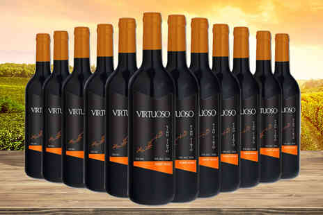 Q Regalo - 12 bottle case of mixed Virtuoso wines mix and match your wines - Save 68%