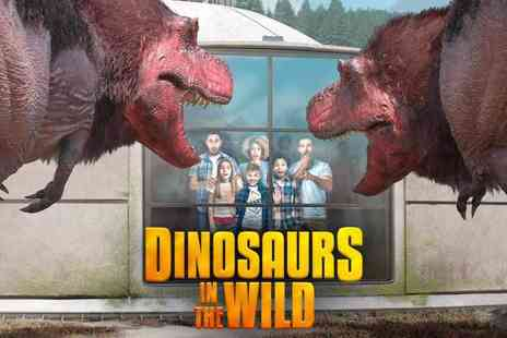 Dinosaurs in the Wild - Meet Living Dinosaurs in an Immersive, Interactive Experience this Summer - Save 41%