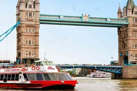 City Cruises PLC - Three day hop on, hop off Thames river cruise - Save 50%