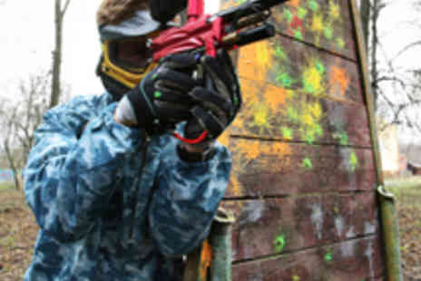 Unreal Paintball - Full Day Paintballing, 200 Paintballs, and Lunch - Save 88%