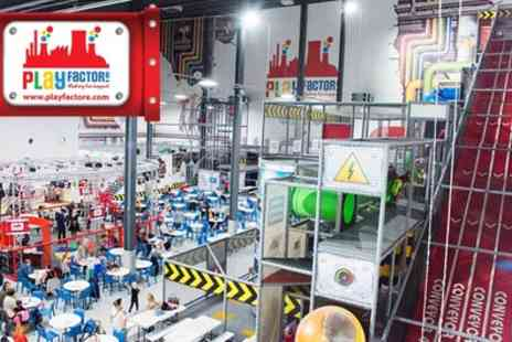 Play Factore - Indoor Entertainment Arena Entry for Family of Four - Save 44%